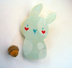 Super cute Rabbit-pin
