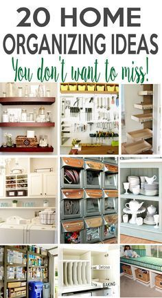 Home Organizing Ideas You Don't Want to Miss! Remodelando la Casa: 20 Home Organizing Ideas You Don't Want to Miss!Remodelando la Casa: 20 Home Organizing Ideas You Don't Want to Miss! Garage Wall Organizer, Office Supply Organization, Home Organisation, Household Organization, Home Organization Hacks, Laundry Room Organization, Organizing Your Home, Organizing Ideas, Organizing Office Supplies