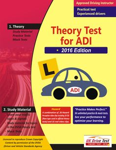 A Best Learning Platform to prepare for the Official DVSA theory test for drivers looking to become approved driving instructors. ADI test is for a trainer of car driving, who has been tested and registered by the Driver and Vehicle Standards Agency (DVSA).