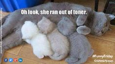 Running out of toner