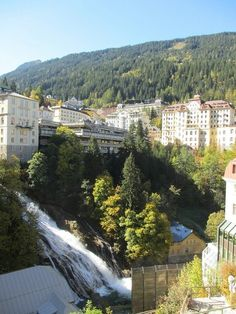 Bad Gastein Austria, by paul. Bad Gastein, Salzburg Austria, Swiss Alps, Abandoned Places, Europe, The Incredibles, Mansions, Water, Travel