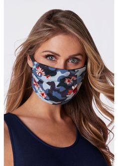 Blue Face Mask 3 Pack on Sale for $11.98 at Boston Proper! Who knew face masks would be the latest fashion accessory? This set of three Blue Print Masks include a Blue Gingham Face Mask, a Blue Stars Mask, and a Blue Floral Camo Face Mask. Great to wear with Denim or crisp white. Fashion Masks | Trending Face Masks | Cute Face Masks | #FaceMask Blue Face Mask, Diy Face Mask, Face Masks, Summer Fashion Trends, Spring Trends, Spring Fashion, Women's Fashion, Classy Wedding Guest Dresses, Boston Proper
