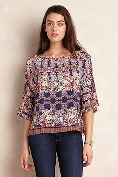 Tapestry Blouse - anthropologie.eu
