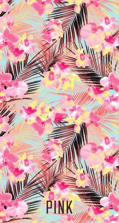 Imagem de pink, wallpaper, and flowers