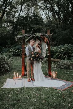 Boho Wedding Decor | Macrame Wedding Backdrop