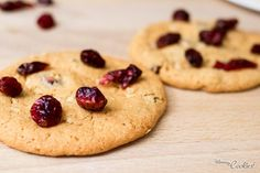 Cómo preparar galletas de avena y arándanos