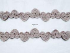 Crochet Heart Garland - Tutorial
