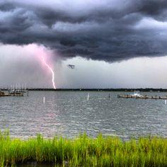 Crystal Coast Lightning Show!