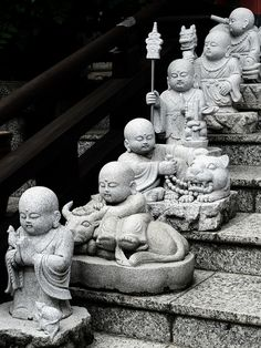 Asian stone monks status