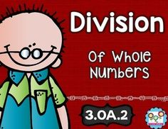 Division: interpret whole-number quotientsThis set is the perfect tool to teach your students the second Operations and Algebraic Thinking standard in the common core. By completing the activities in this set, your students will understand how to interpret whole-number quotients.Included in this download are:-5 Math Tasks for cooperative learning-5 Exit Tickets for individual assessment-I can statements for clear learning objectivesThis combination of teaching strategies fosters whole-brain…