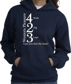 Great Western Pleasure riding hoodie I want it!