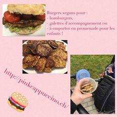 Hamburgers, Menu, Galette, Sans Gluten, Quinoa, Vegan, Side Dishes, Menu Board Design, Hamburger