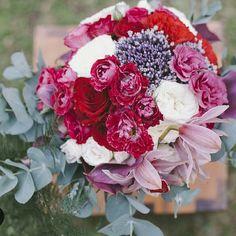 Buquê com Flor de Cebola - As Floristas