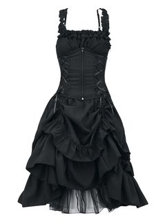 Robe Gothique Lolita Poizen Industries (Evil Clothing)