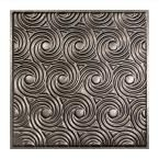 ACP Fasade - x Lay-In Ceiling Tile - Sold by Piece Crosshatch Silver Ceilings Ceiling Tiles Lay In Drop Ceiling Tiles, Faux Tin Ceiling Tiles, Ceiling Grid, Ceiling Panels, Galvanized Steel, Animal Print Rug, Things To Sell, Pewter, Tin Ceilings