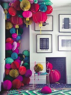 Living room | Oriental | Lanterns | Decoration | Pattern | Modern | Livingetc: