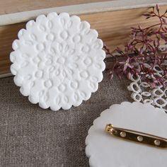 Ceramics by Kim Wallace: // Porcelain Jewellery