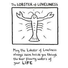 The Lobster of Loveliness (Edward Monkton)