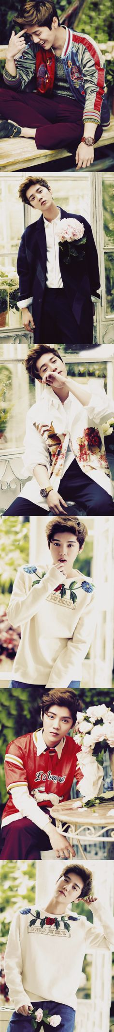 Luhan for Harper's Bazaar Men July 16 Cover ❤ Luhan Exo, Kpop Exo, Exo Ot12, Exo K, Park Chanyeol, Shinee, Exo Group, Xiuchen, Kim Jongdae