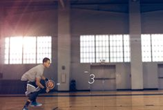 Stephen Curry is watching a jumper splashdown before a defender even knows what's happened. That's a speed release. #EveryMoveCounts