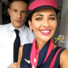 【ギリシャ】スカイ・エクスプレス 客室乗務員 / Sky Express cabin crew【Greece】 Cabin Crew, Lady And Gentlemen, Flight Attendant, Gentleman, Greece, Captain Hat, Hats, Greece Country, Hat