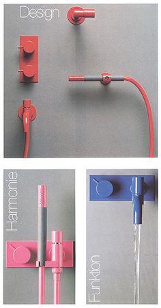 VOLA Taps different colour ideas Arne Jacobsen for Vola | Fixtures by Arne Jacobsen for Vola, 1969