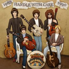 The Traveling Wilburys by 89000007ANL on DeviantArt