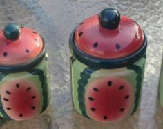 WATERMELON CANISTERS
