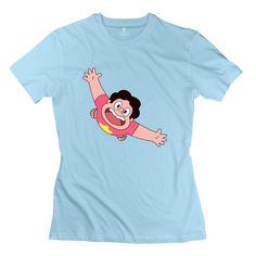 Women Steven Universe Personalized Cool SkyBlue T-Shirt By Mjensen