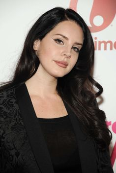 Lana Del Rey attends Billboard's 10th Annual Women In Music in New York City on December 11th, 2015