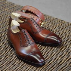 St James II, Color: Vintage Cherry, Last: TG 73, Soles: Oak Bark. #GazianoGirling #AHOneShoes #HandmadeShoes #MensShoes #MensFashion   If you have any questions or comments we'd love to help. Contact AH One Shoes at 703-451-0540 or ahoneshoes@aol.com