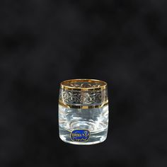"SHOP-PARADISE.COM:  Wodkagläser ""Ideal Gold"" (6 St.), 60 ml, H 5,5 cm, D 4,5 cm 32,13 €"
