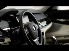 2013 BMW 7 series with improved ConnectedDrive/infotainment system