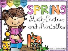 Included in this pack are 9 Math Centers and 10 Math Printables for Spring! :)Math Centers Included:1. Addition Word Problems - Students will solve the addition word problems.2. Subtraction word problems - Students will solve the subtraction word problems.3.