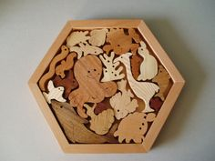 Wooden Puzzles - Waywood-Creations