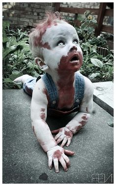 baby zombie...why do I love this?