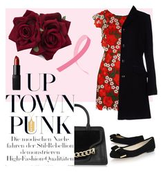 TGIF! by picale on Polyvore featuring polyvore mode style Topshop Harmont & Blaine MICHAEL Michael Kors Karl Lagerfeld True Rocks NARS Cosmetics fashion clothing fridaynight uptownpunk
