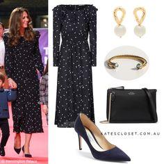 Kate Middleton Outfits, Kate Middleton Style, Duchess Of Cambridge, Duchess Kate, Nice Dresses, Dresses For Work, Dress Silhouette, Princess Kate, Royal Fashion
