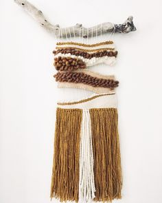 Neutral weaving. House of Woolly Thyme