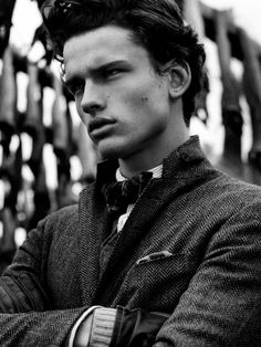 Simon Nessman / Male Models Black & White Photography