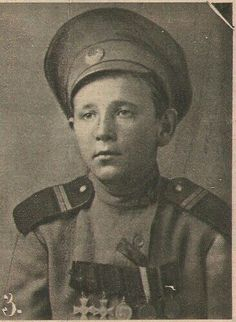 Young russian soldier