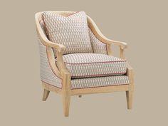 Ivory Key Shoal Bay Chair - Lexington Home Brands