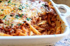 Baked Ziti from the Pioneer Woman Recipe at end