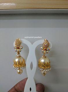 Gold n pearl drop