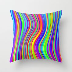 the Great Noize X Throw Pillow
