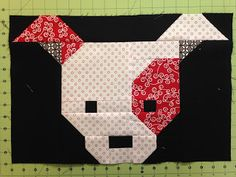 The Quilting Queen Online: Dog Gone Cute Blocks 3 & 4