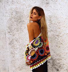 Pretty crochet boho