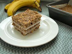 Banana Oat Bars from Happy Healthy Mama
