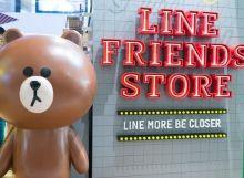 Line Friends Store Hysan Place deket nginep dulu