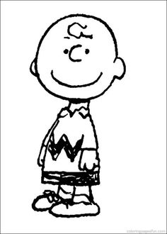 Snoopy Coloring Pages 16